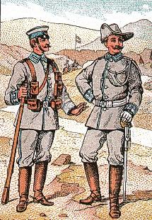 English: German Kolonial-Infantry for Southwes...