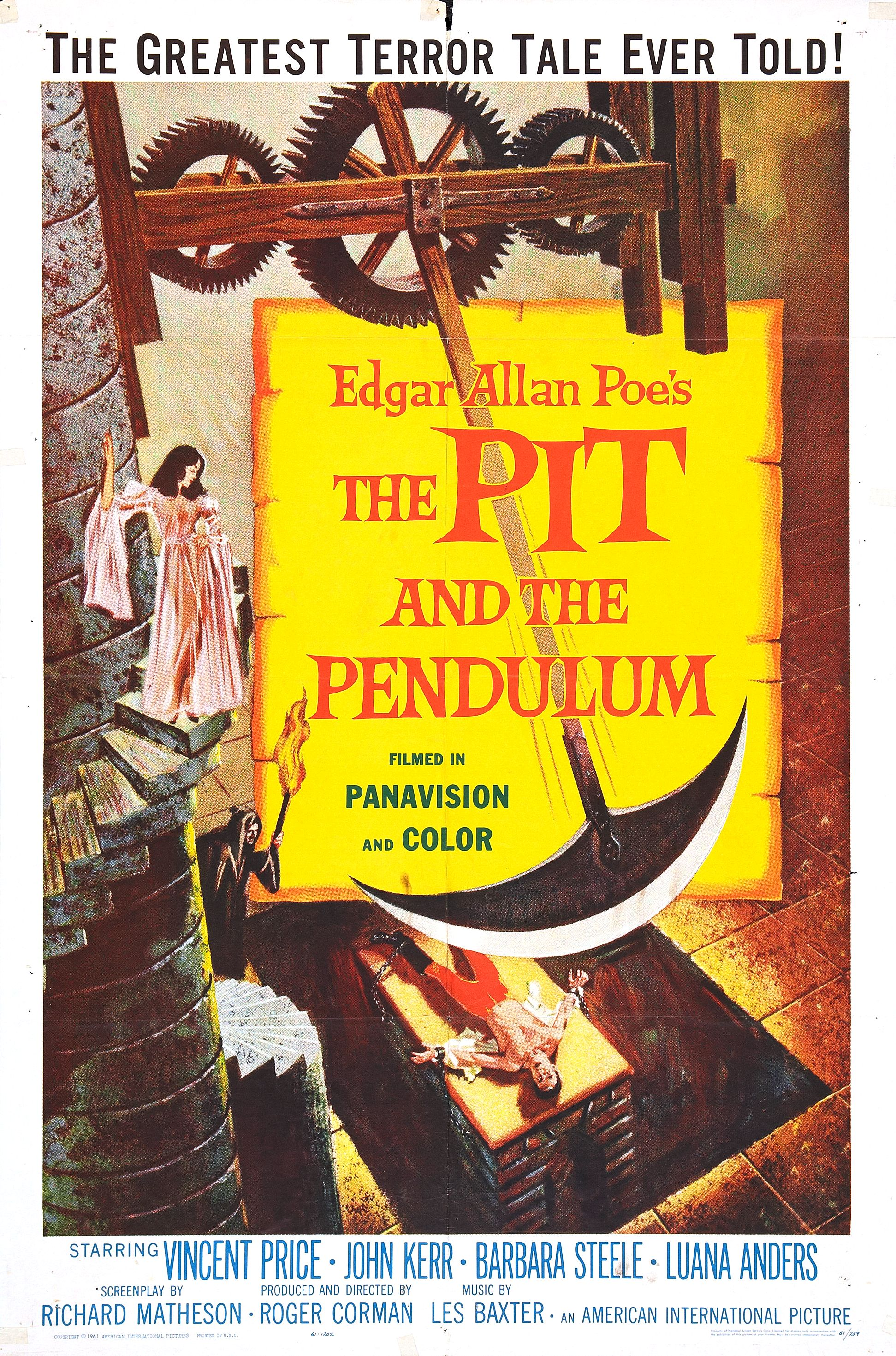 Poster do filme The Pit and the Pendulum