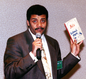 Neil deGrasse Tyson at the Antelope Valley Cou...