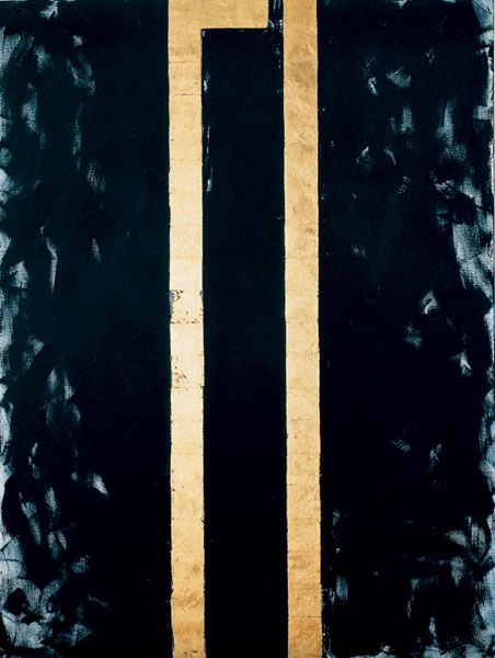 Artwork of Barnett Newman Wasko Man in the Night