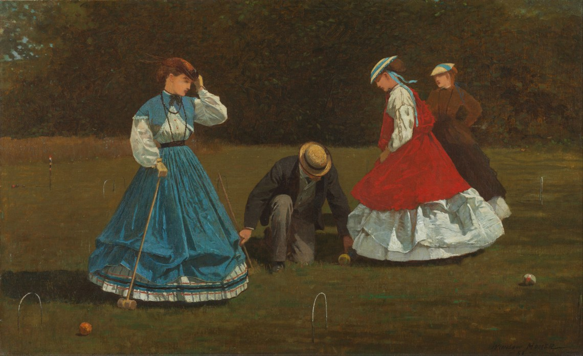 Winslow Homer   Croquet Scene   Google Art Project Fashion Games For Adults