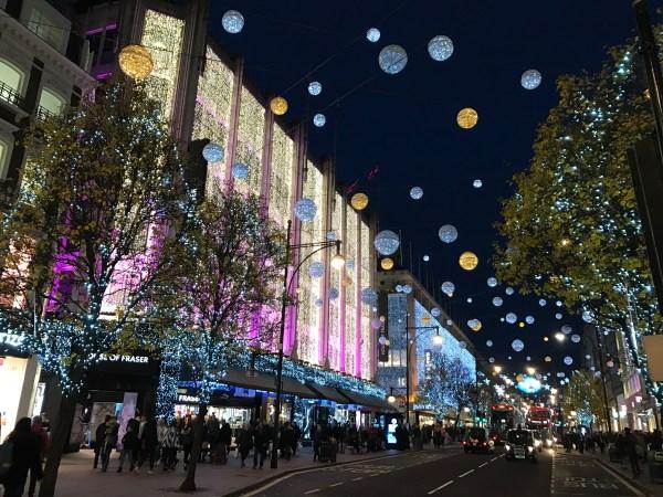 christmas lights london # 19