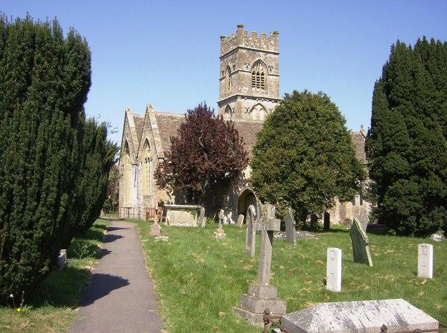 Photo of SS Mary and Ethelbert parish church, Luckington, Wiltshire