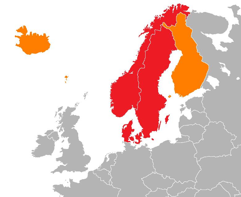 Escandinavia y Países Nórdicos