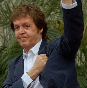 English: Paul McCartney at an event for George...