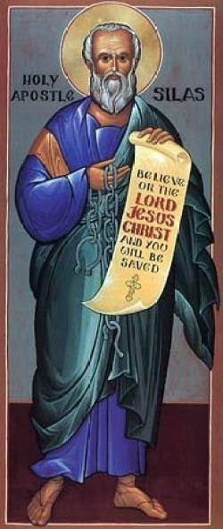 sveti Sila (Silvan) - učenec apostolov