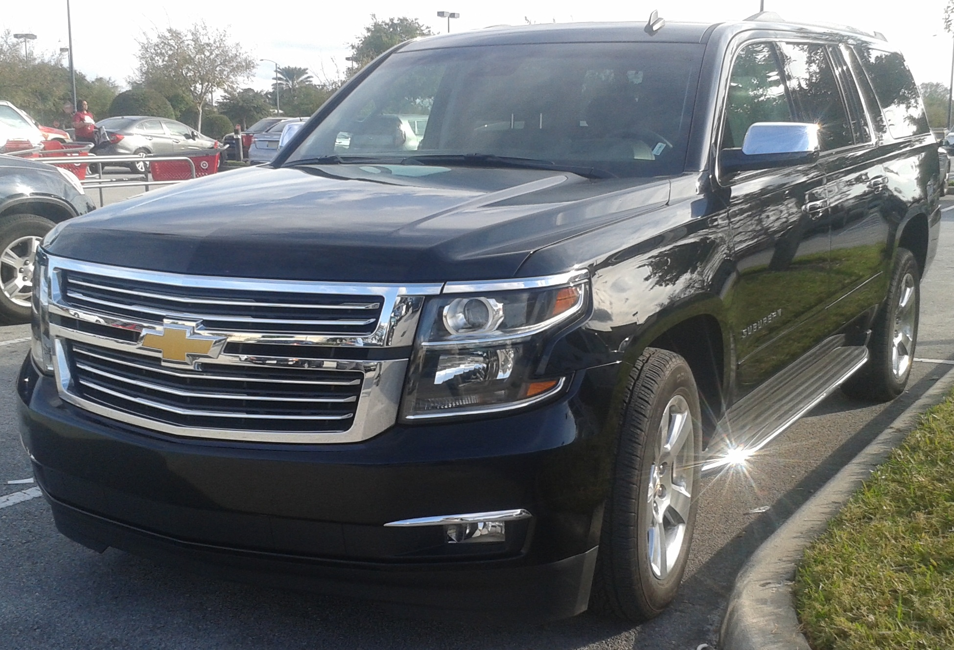 List of Chevrolet vehicles   Wikipedia  15 Chevrolet Suburban LTZ jpg
