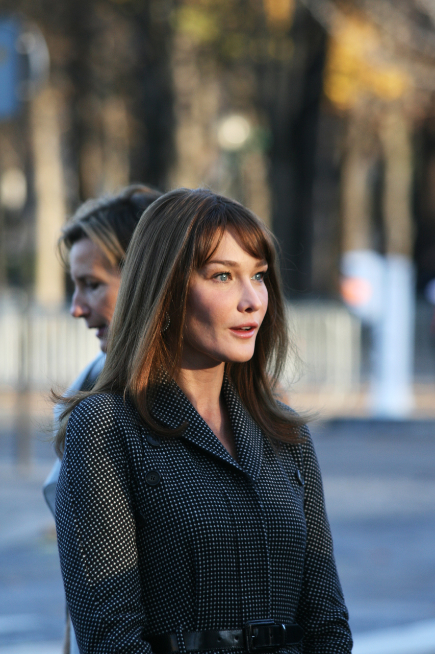 As carla bruni prepares for her debut london gig this weekend, france's former first lady tells craig mclean about the politics of hot pants,. File Carla Bruni Sarkozy 1 Jpg Wikimedia Commons