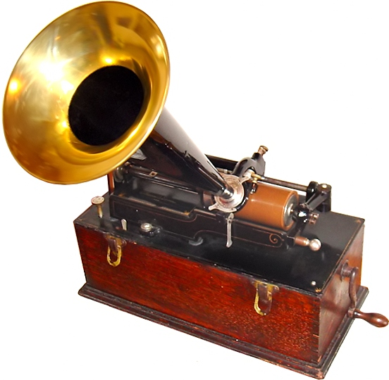 Picture of The Edison Phonograph Player