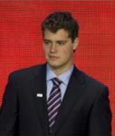 Levi Johnston with Sarah Palin's family at the...