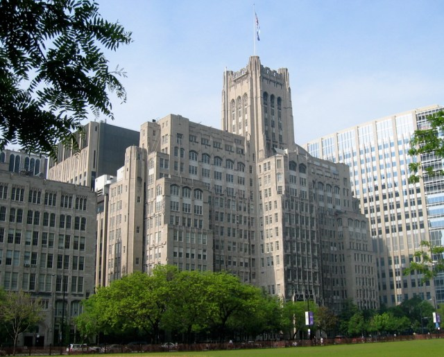 The Ward Building at the Northwestern Universi...
