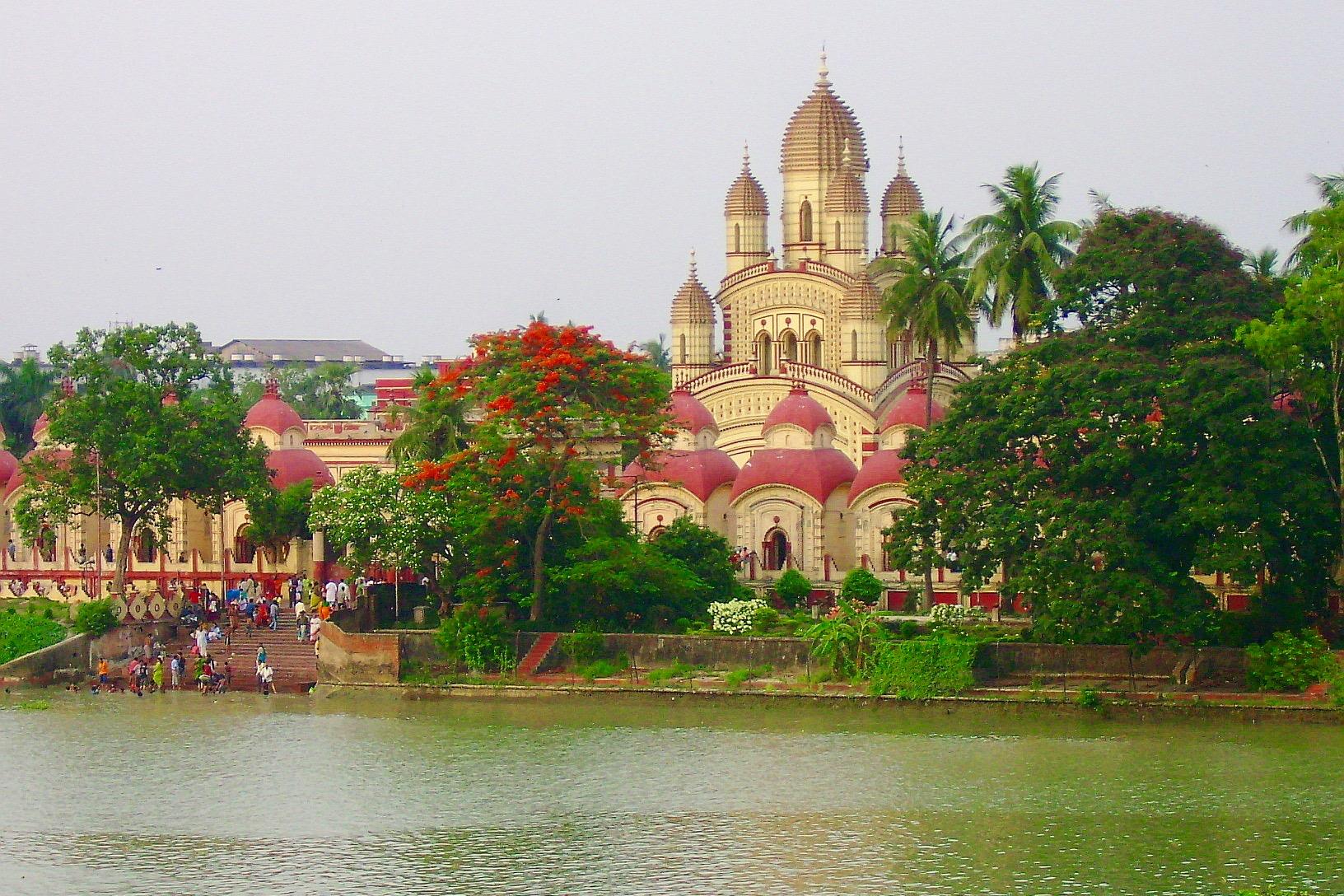 Image result for kolkata dakshineswar kali mandir