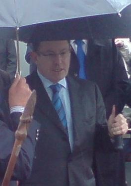John Banks, Mayor of Auckland City, New Zealan...