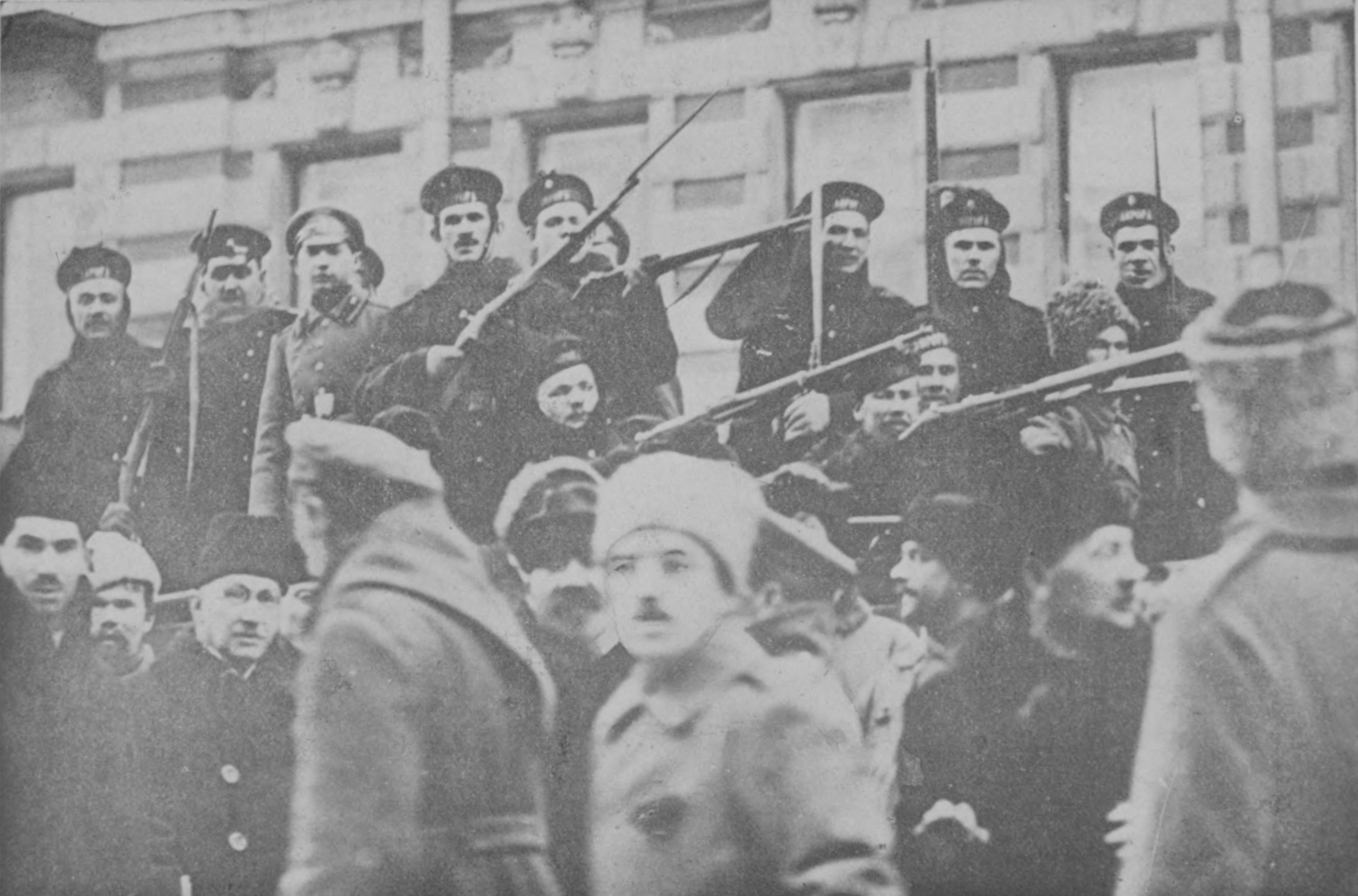 Español: Marineros revolucionarios.