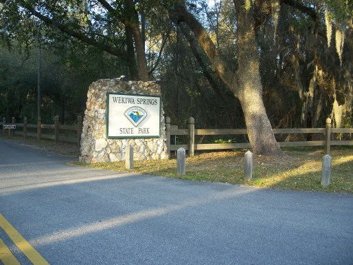 Entrance to Wekiwa Springs State Park