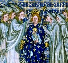 English: Charles the Bald crowned Emperor