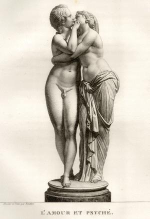 Fortellingen  om Amor og Psyche, eller Eros og Psyche