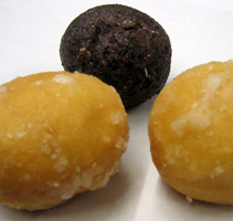Timbits, sold by Tim Hortons, are sold in Cana...