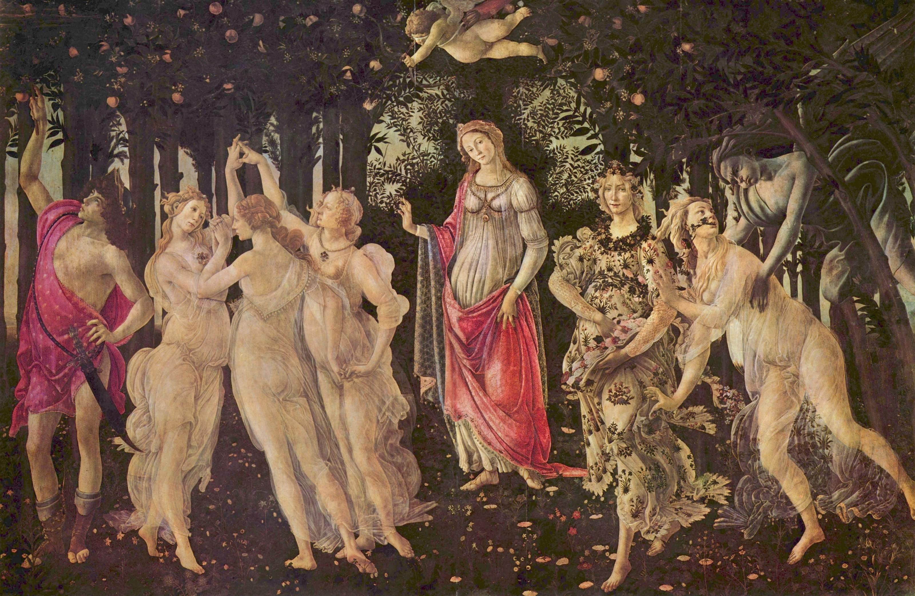 la Primavera Sandro Botticelli 春 波提切利