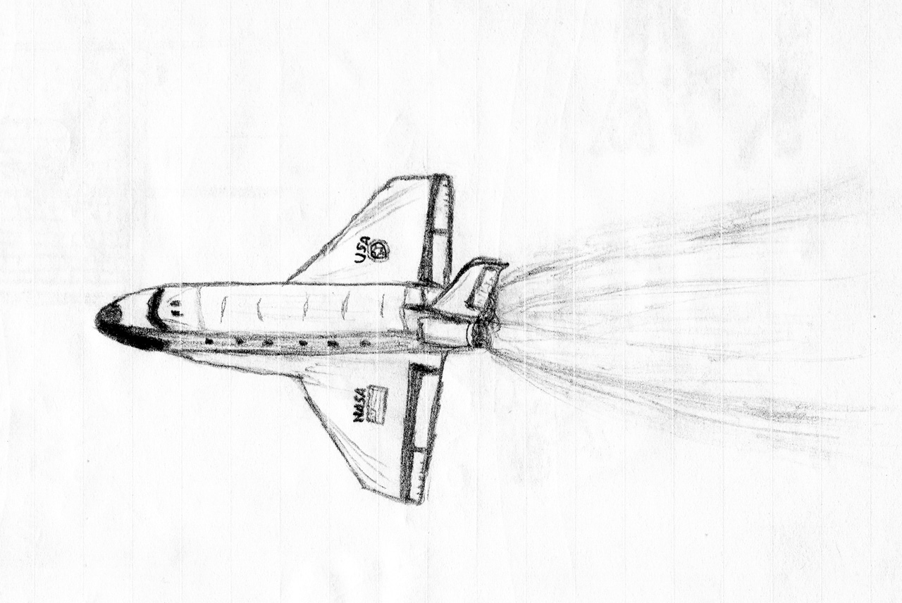 File Shuttle Sketch