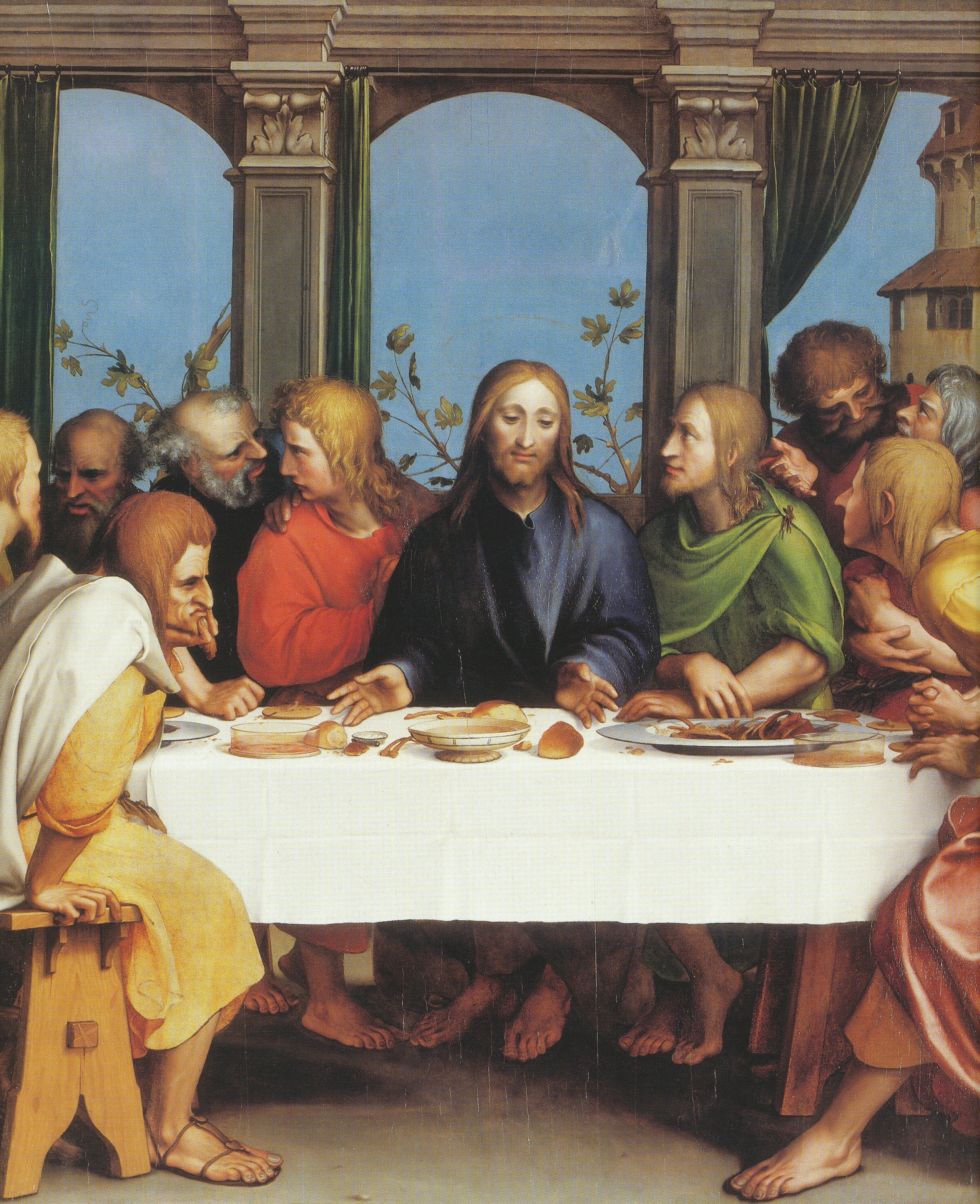 File The Last Supper By Hans Holbein The Younger