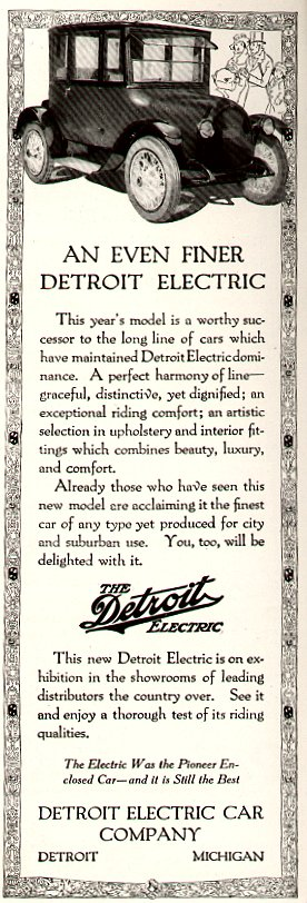 Old Detroit Electric ad