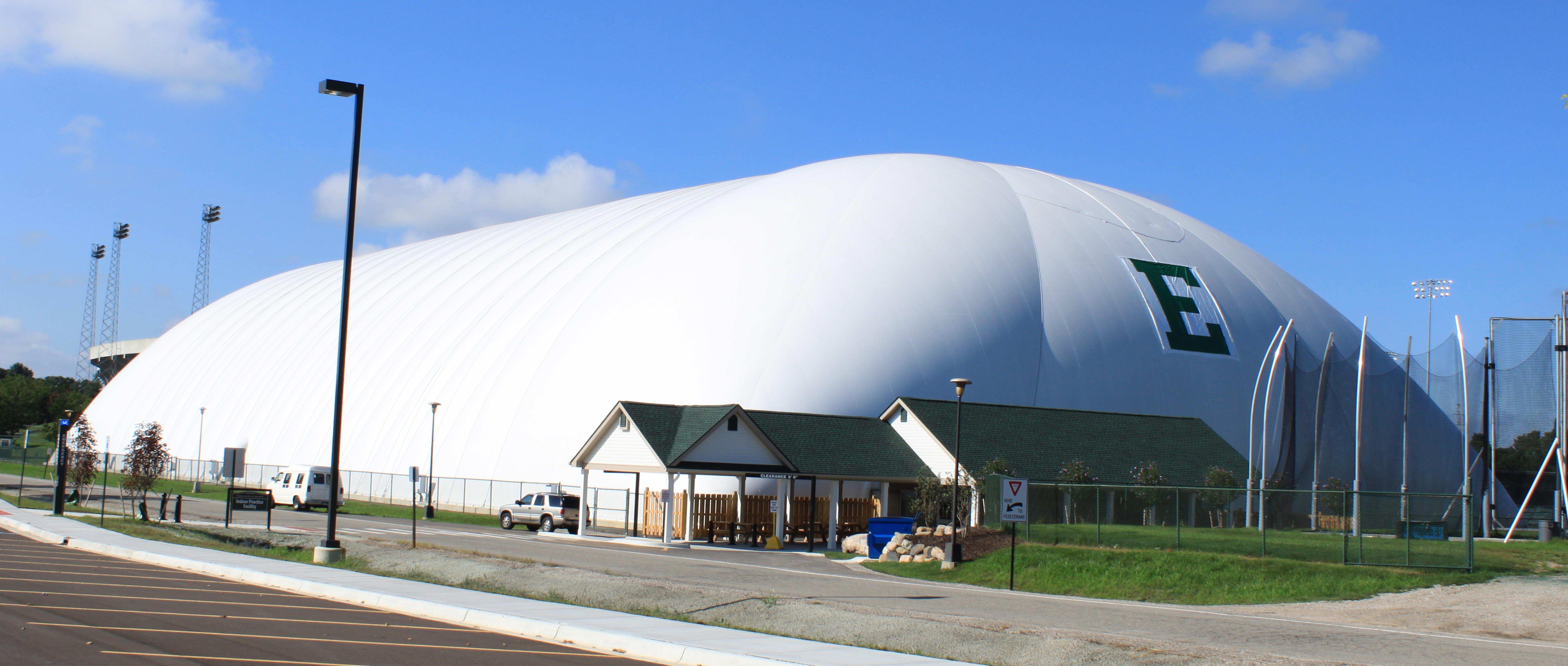 Eastern michigan University indoor practice facility