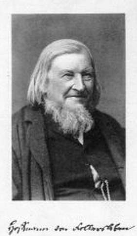 Hoffmann von Fallersleben, Portrait und Unters...