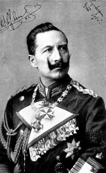 Kaiser Bill's killer tache
