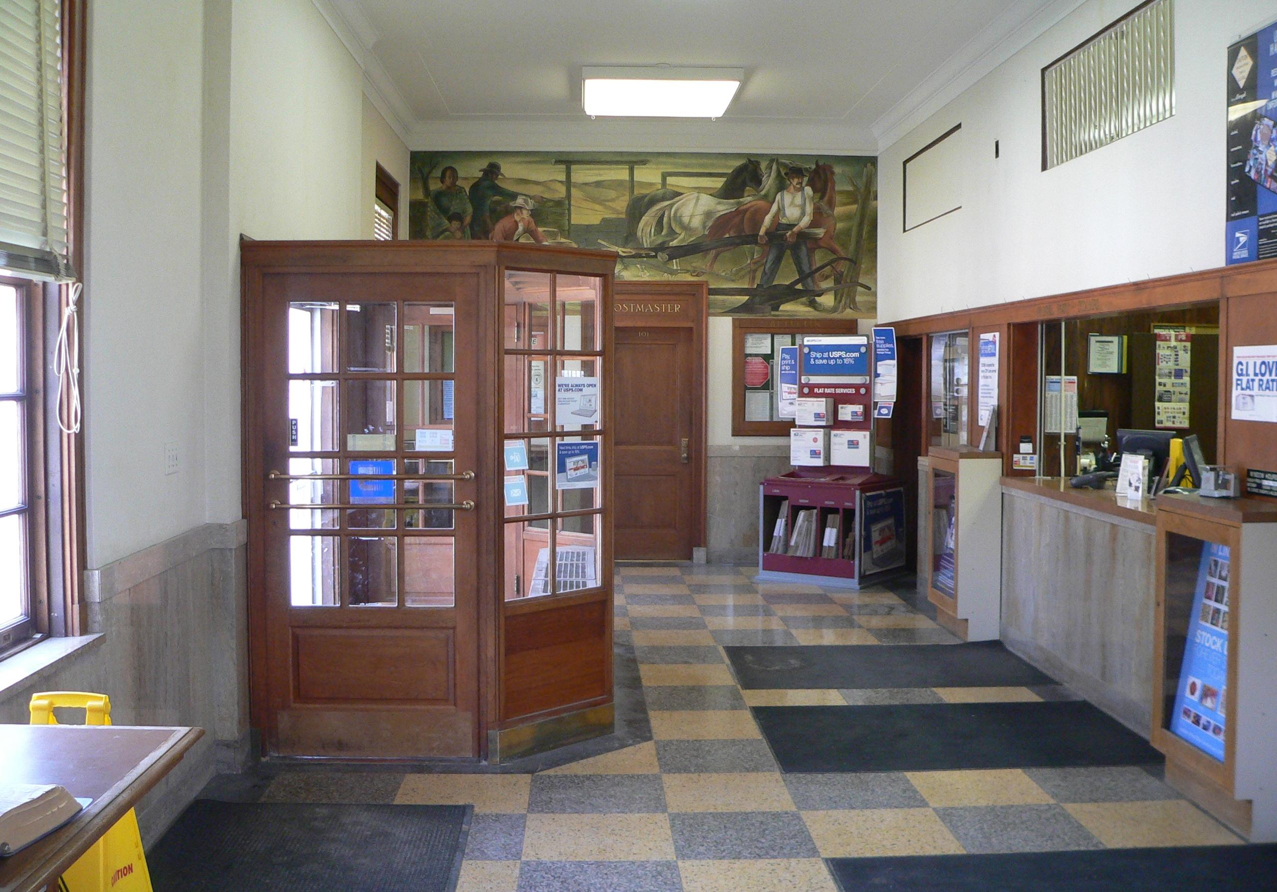 FileGeneva Nebraska Post Office Interior 2JPG