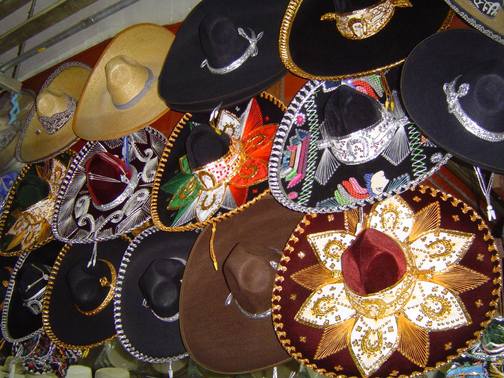 Sombreros, Mexico autor: patrick.denizet from wikipedia.org