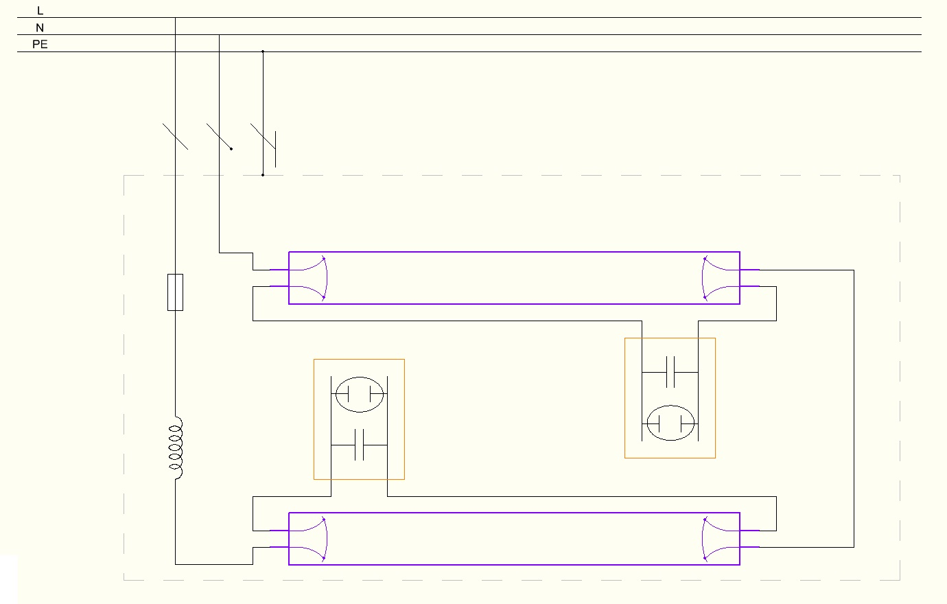 Ge Electronic Ballast Wiring Diagram