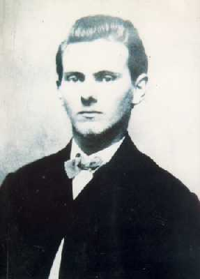 "Jesse James, who left his ""mark"" on ..."