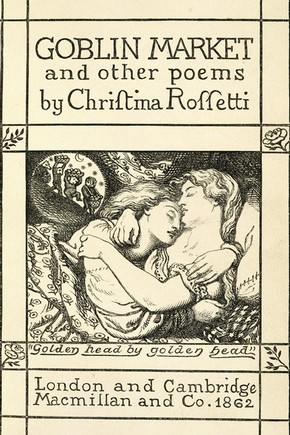 English: Cover Christina Rossetti goblin market