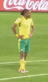 Siphiwe Tshabalala during the game between Sou...