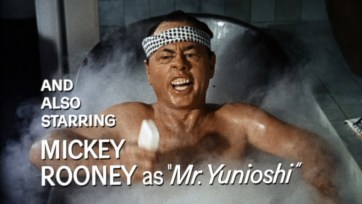 Image result for mickey rooney in breakfast at tiffany's