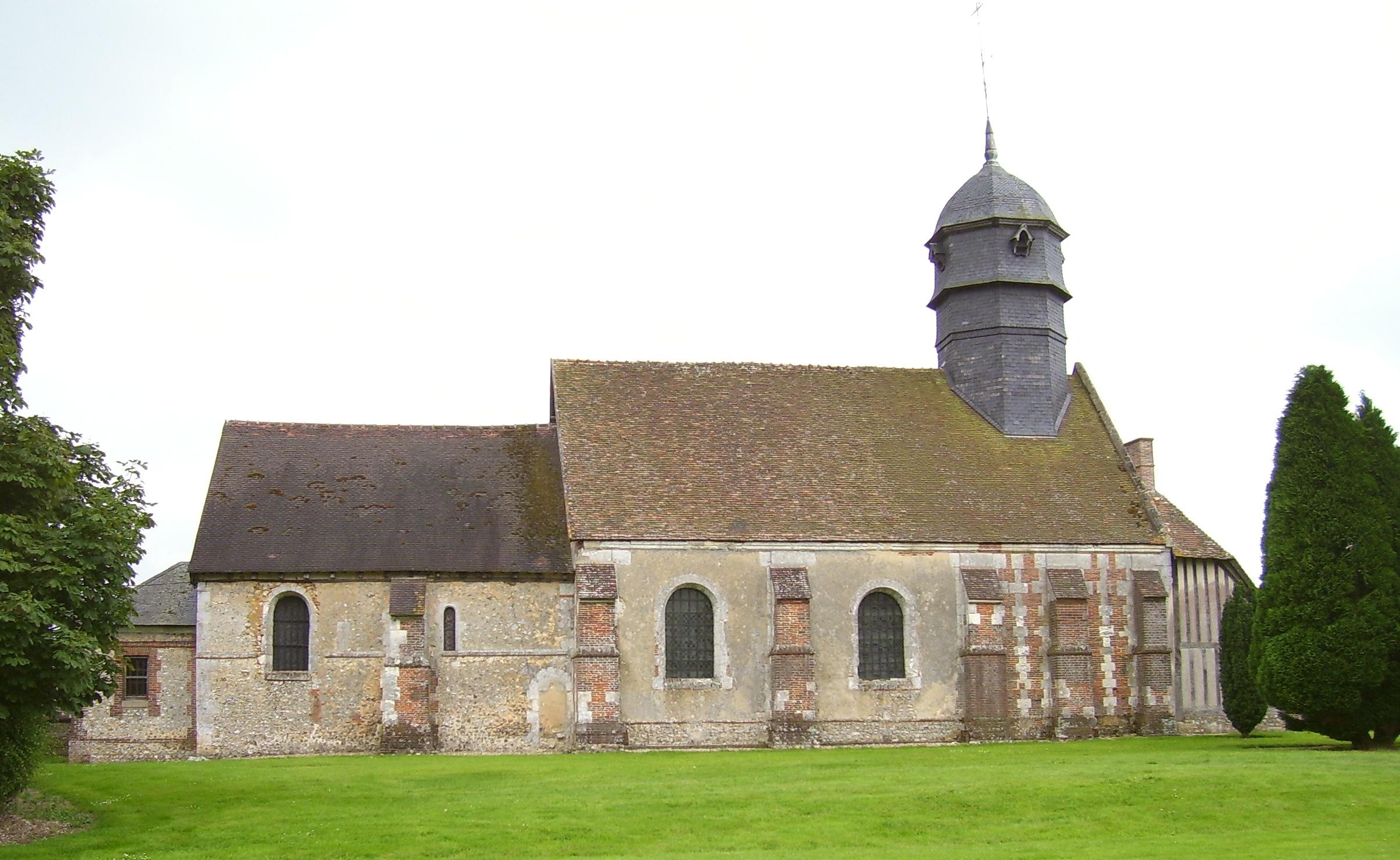Église Saint-Cyr-Sainte-Juliette, eigenes Foto, Lizenz:public domain/gemeinfrei
