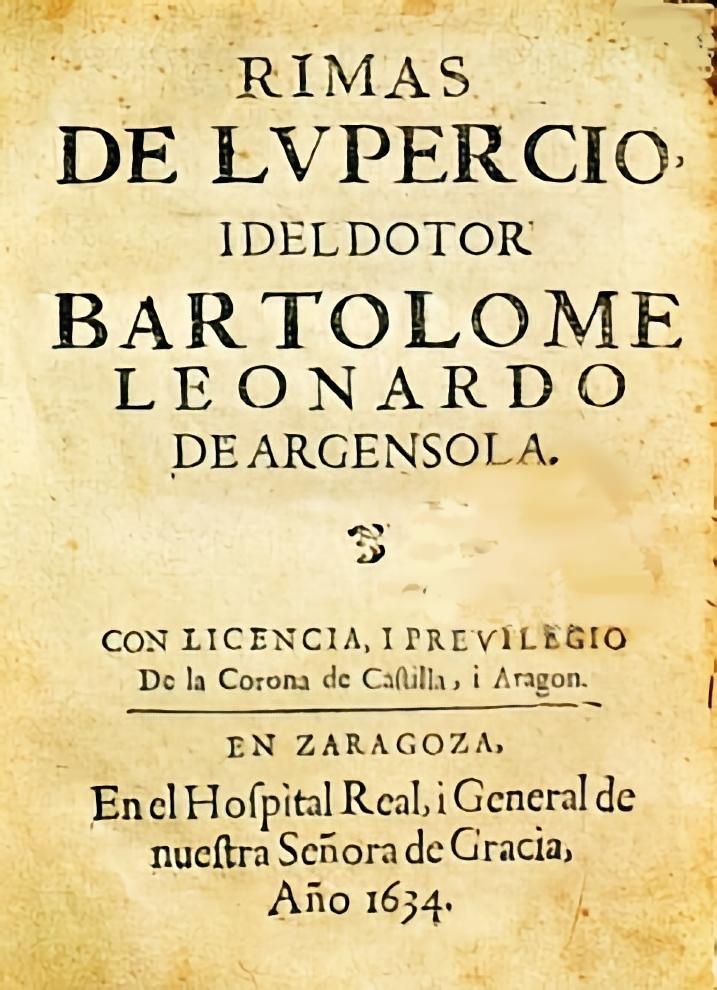 Portada de las Rimas de Lupercio y Bartolomé L...