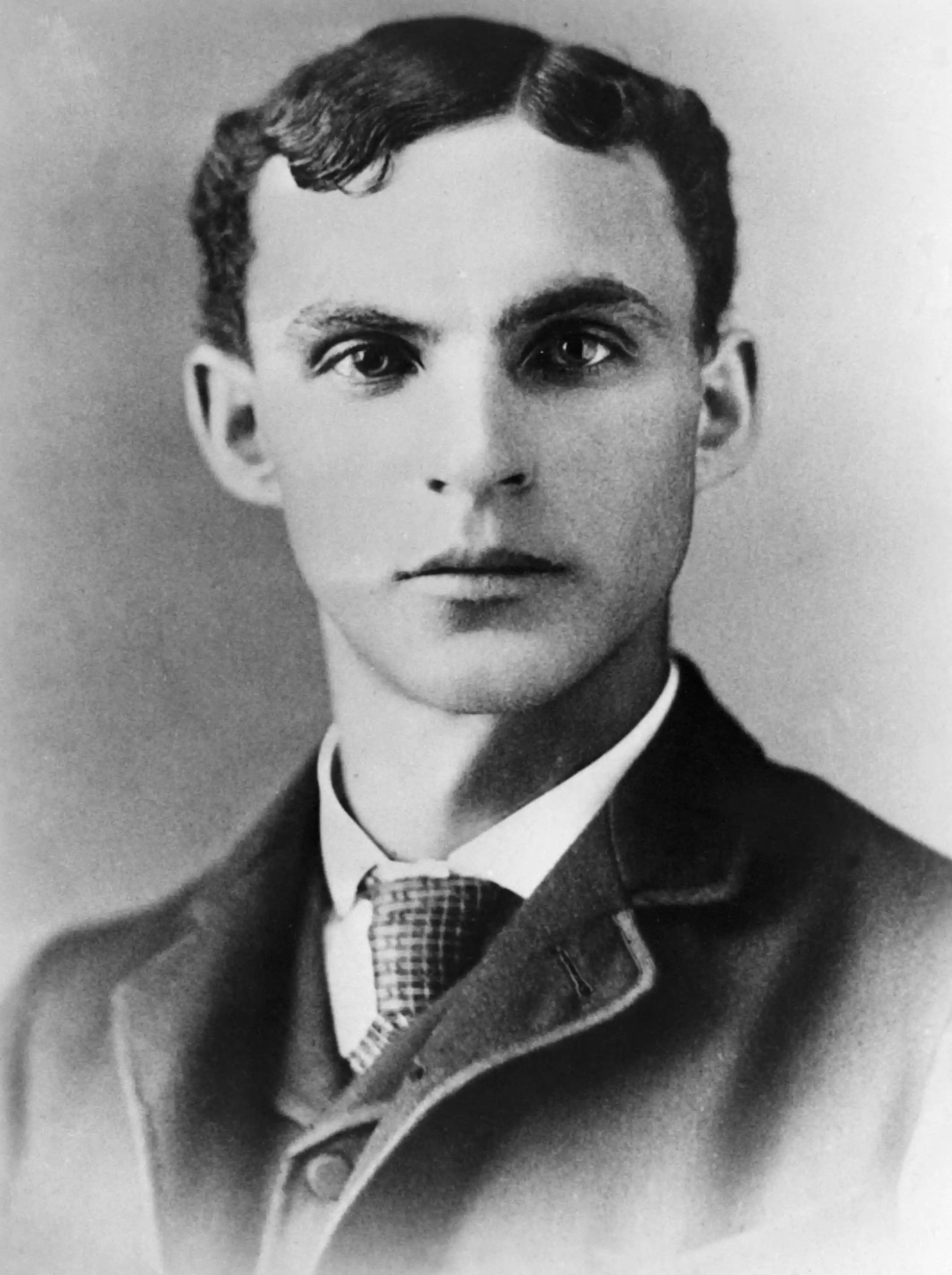 Henry Ford at twenty-five-years old in 1888.