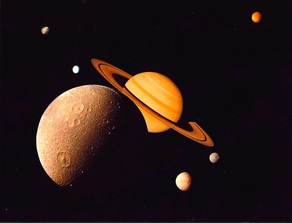 Il sistema di Saturno