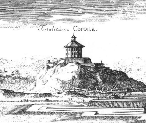 Skansen Kronan i slutet av 1600-talet