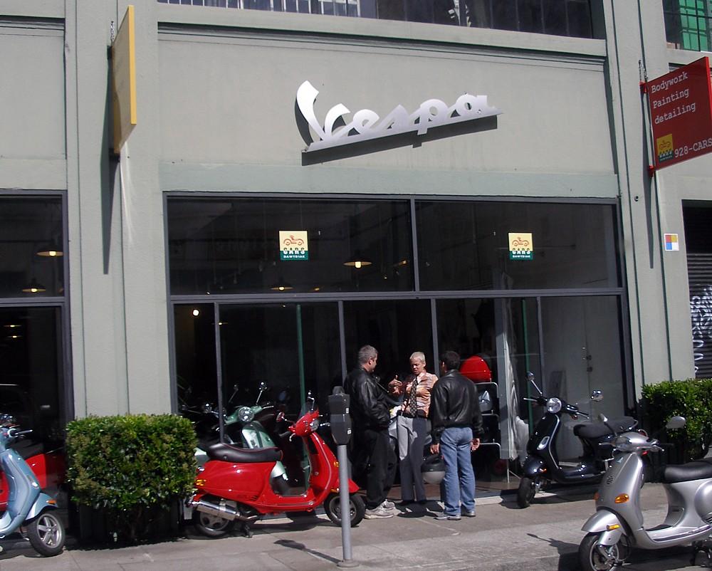 Scooter winkel