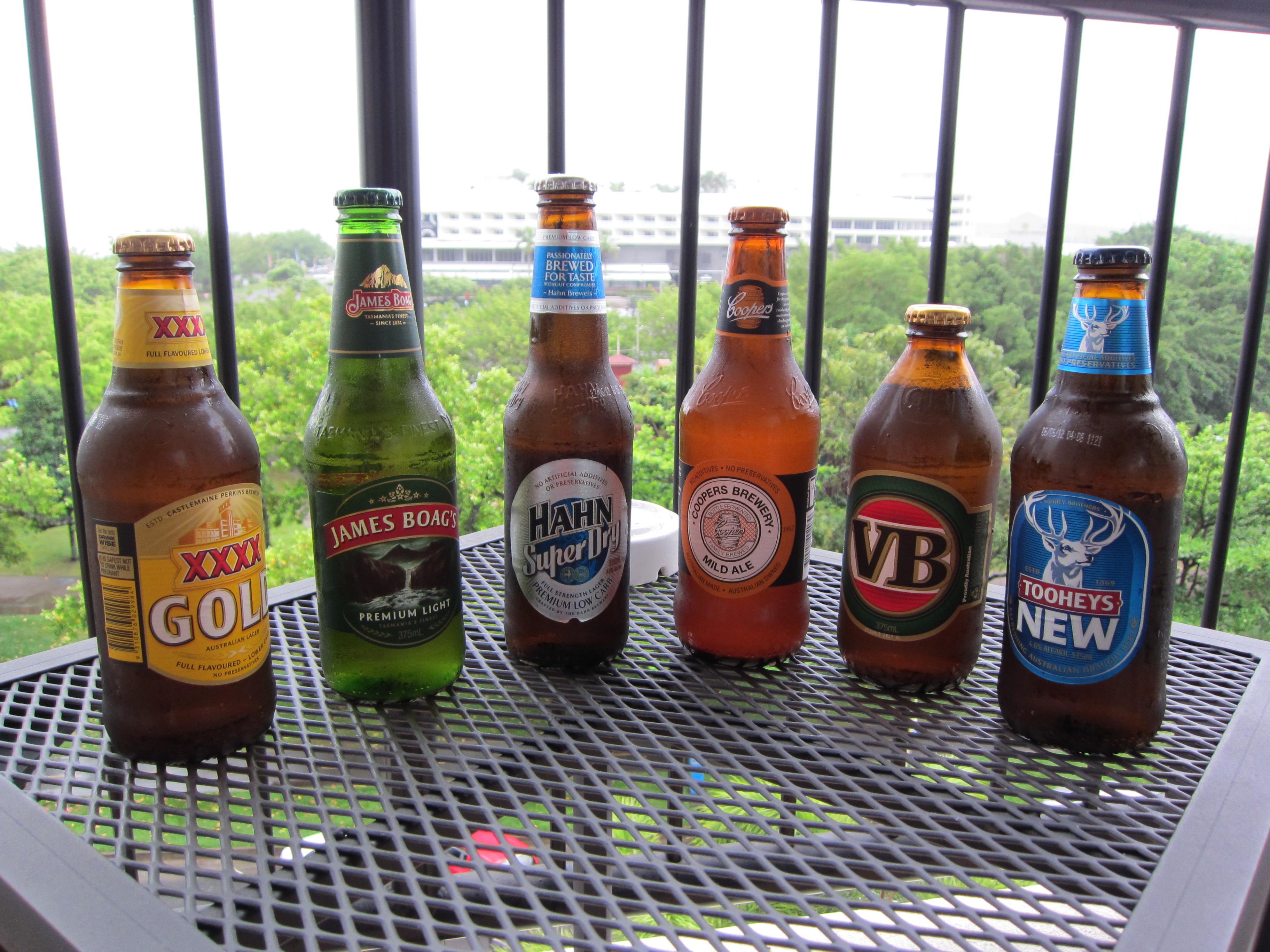 les meilleures bières australienntes