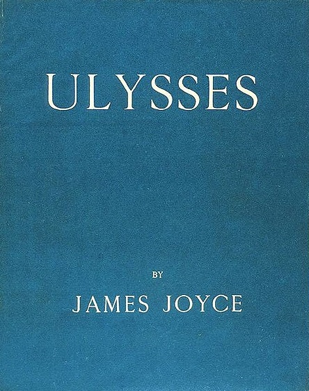Ulysses first edition cover