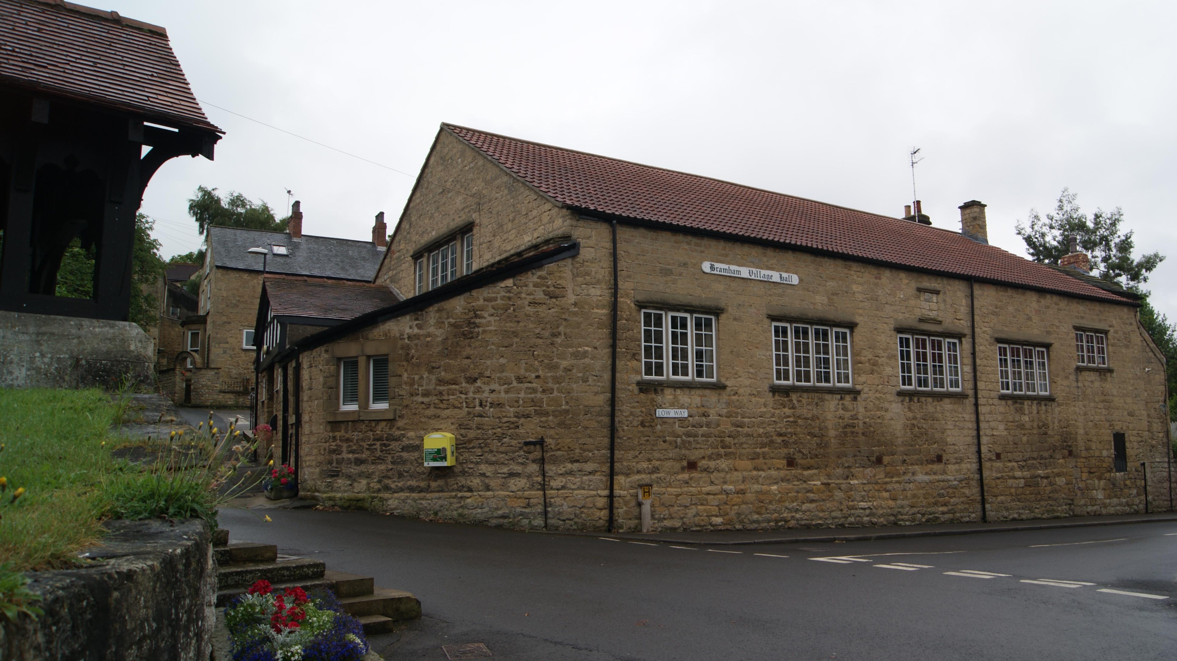 File:Village Hall, Bramham, West Yorkshire (11th July 2017) 001