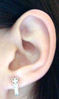 attached earlobe