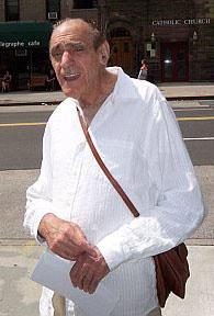 Abe Vigoda in June 2007 in Manhattan on 72nd S...