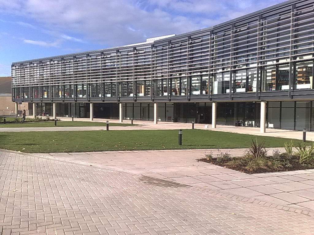 English: The new Checkland Building on the Fal...