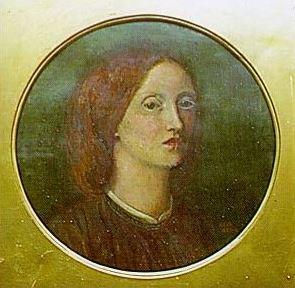 An 1854 self-portrait by Elizabeth Siddal, who...