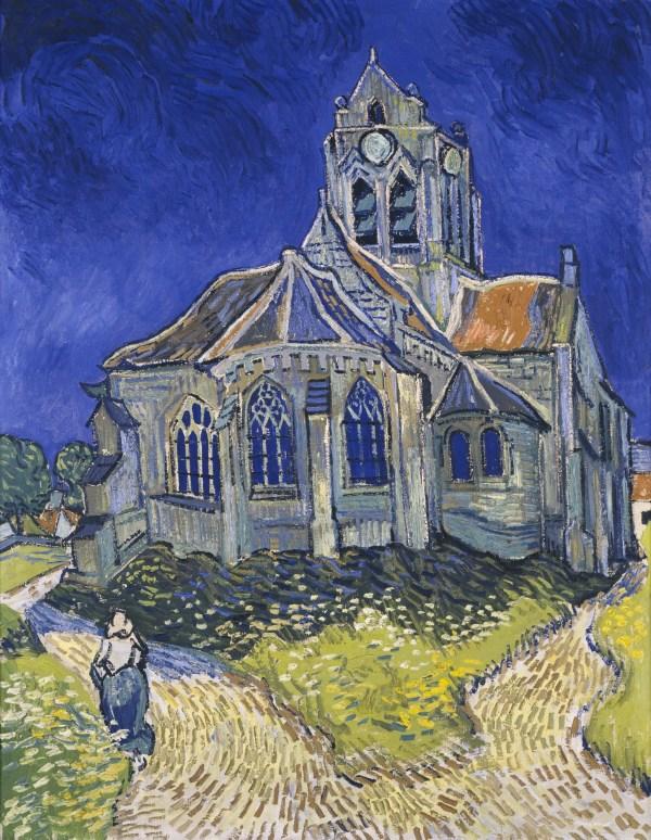 File:Vincent van Gogh - The Church in Auvers-sur-Oise ...